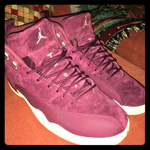 online store b4359 61059 Jordan retro 12s burgundy and white